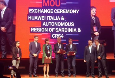 A new agreement between Huawei italia, the Autonomous Region of Sardinia and CRS4
