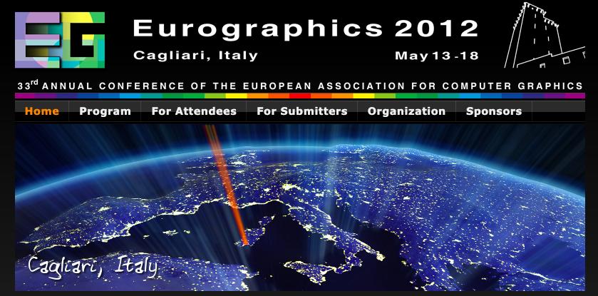 Il CRS4 organizza la conferenza internazionale Eurographics a Cagliari