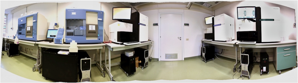 CRS4 hosts the largest Next Generation Sequencing platform in Italy