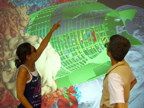 Introduction of the first scalable methods for viewing massive and complex 3D surface models