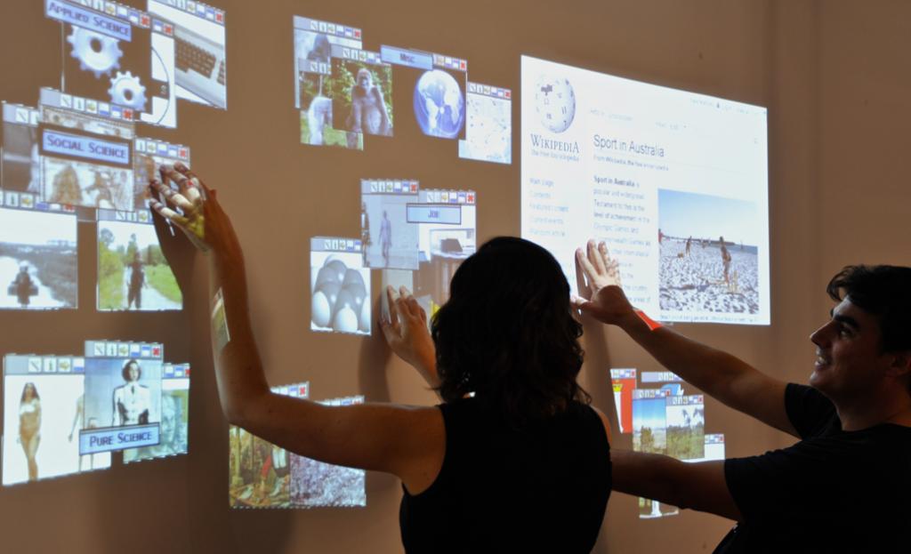 Grandi pareti multi-touch: tFrame del CRS4