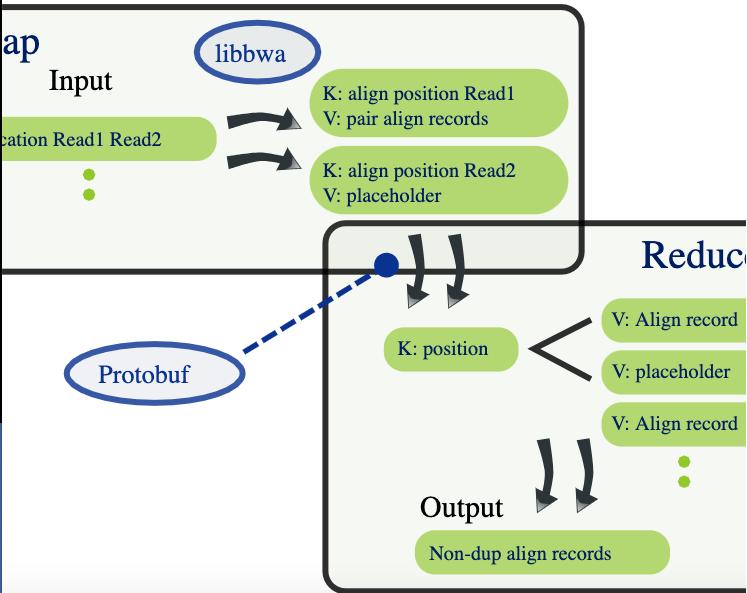 Elaborazione scalabile di dati genomici