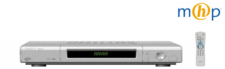 First MHP set-top box for the digital Terrestrial tv