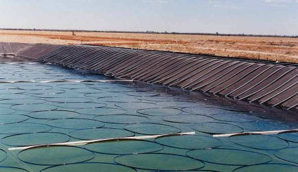 CRS4 file the patent for a Solar Pond
