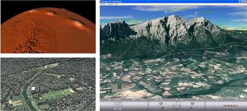 Introduzione di nuovi metodi per la visualizzazione scalabile di dati territoriali