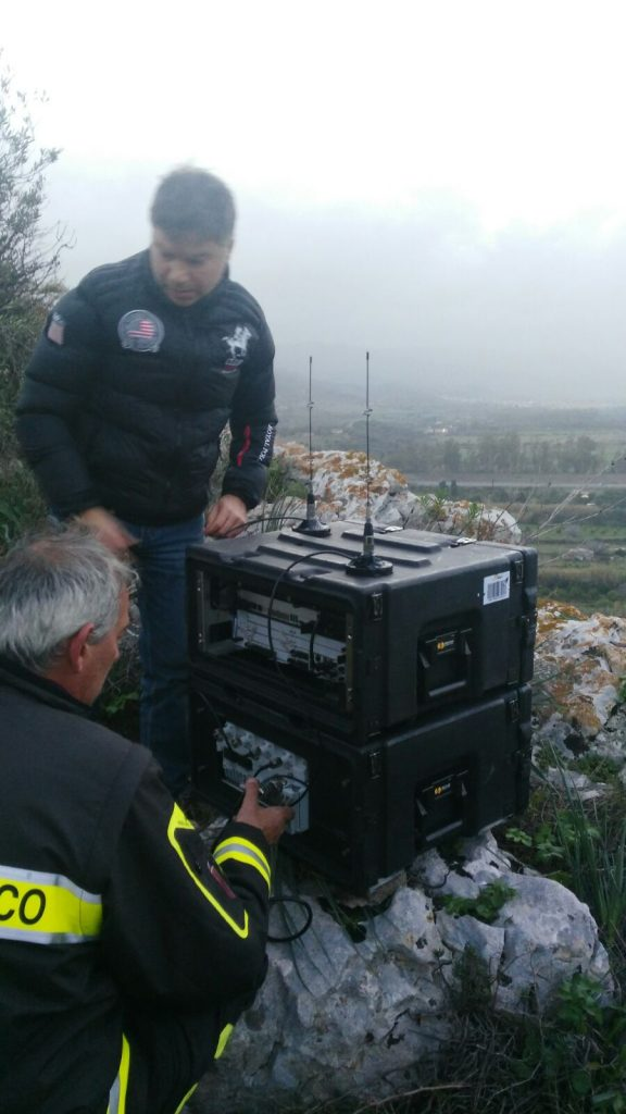 Il CRS4 partecipa alle operazioni di recupero dei dispersi dell'hotel Rigopiano