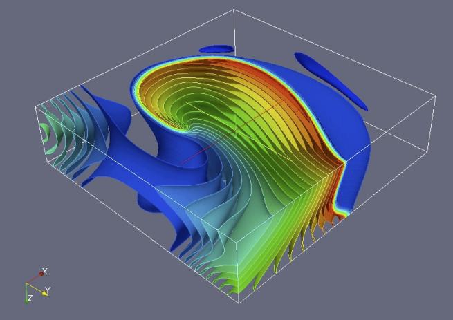 Simulazione dell'attività elettrica del cuore con elementi spettrali ad alta accuratezza
