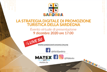 The digital tourist promotion strategy of Sardinia of the the Regional Tourism Department