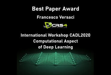 Best paper award to Francesco Versaci at the international workshop CADL 2020