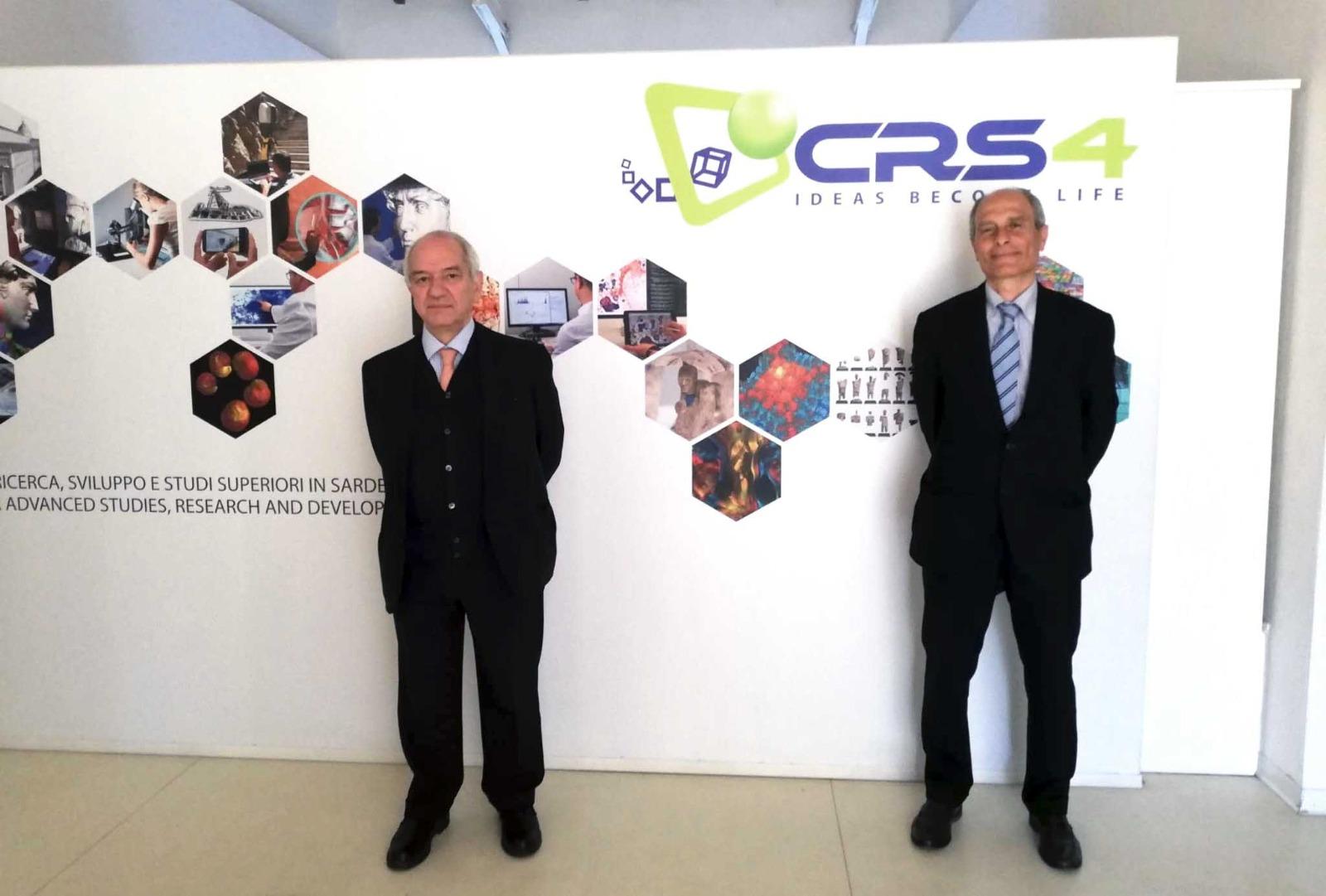 Gilberto Gabrielli presidente e fondatore di TOLO Green e Giacomo Cao amministratore unico CRS4