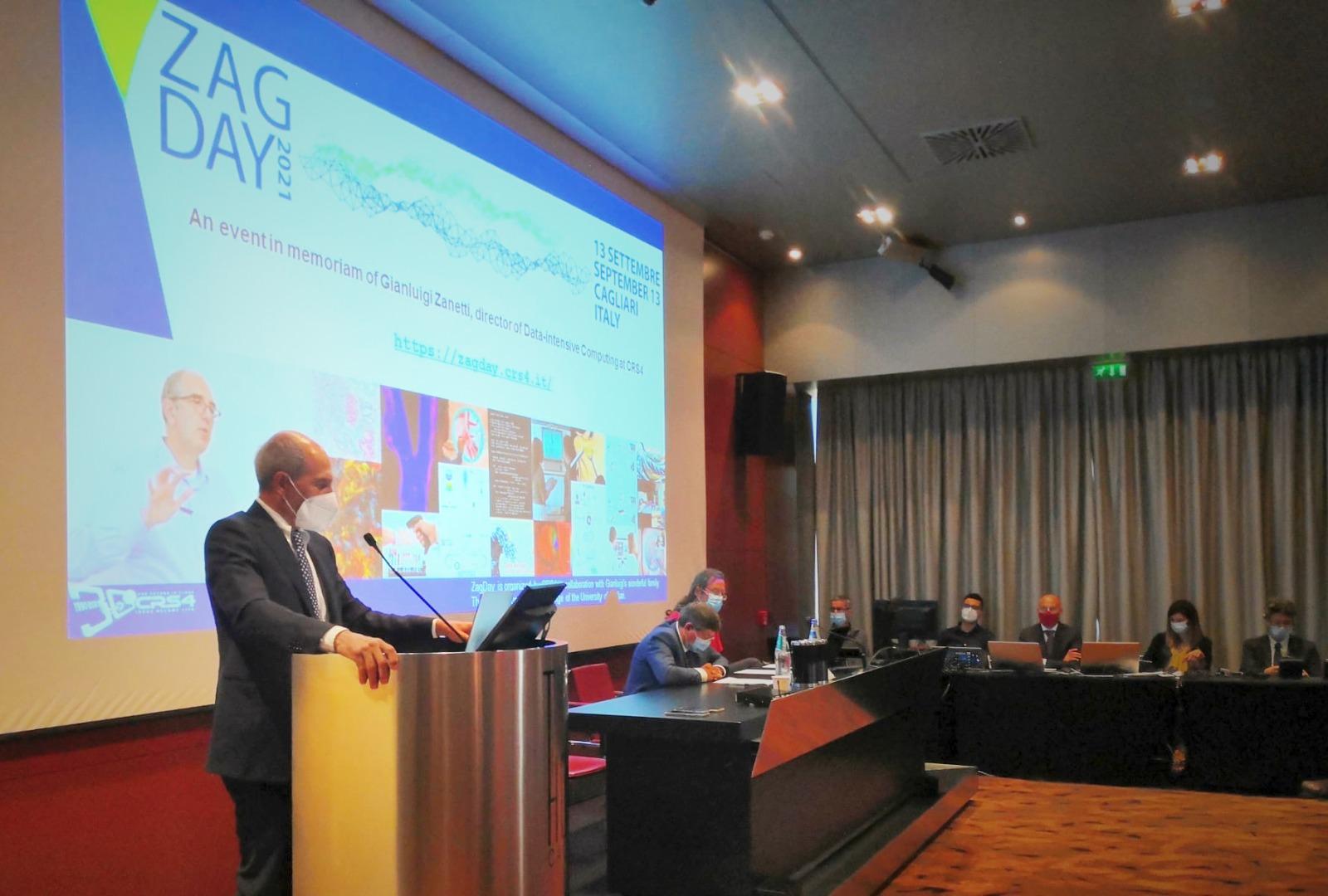 Immagine del convegno ZagDay 2021, intervento di Giacomo Cao